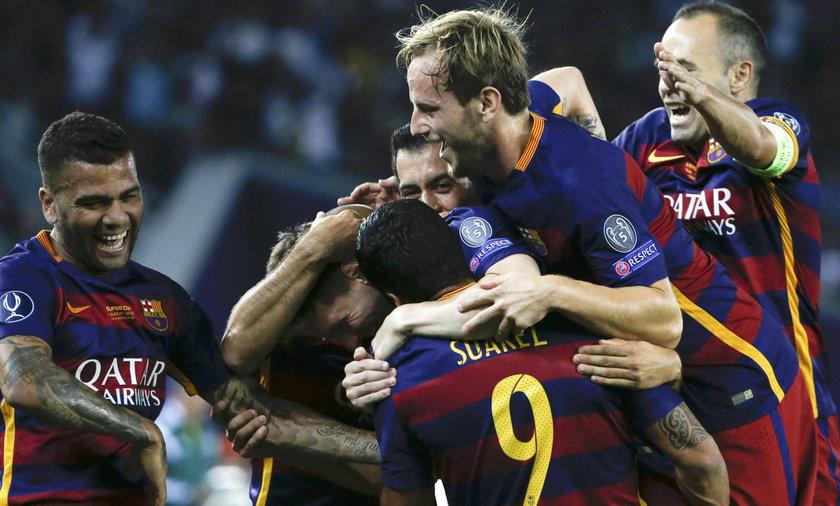 FC Barcelona z Superpucharem Europy po horrorze z Sevillą!