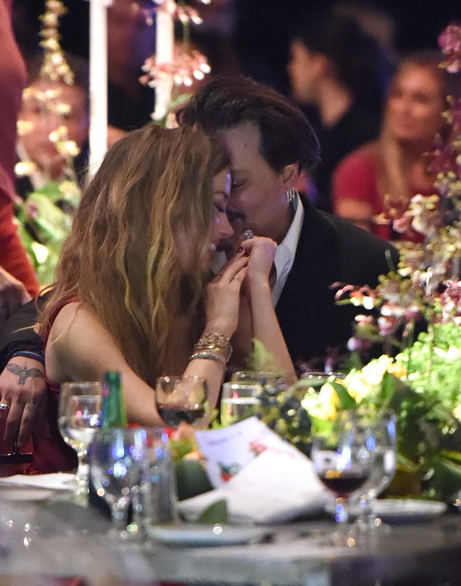 Johnny Depp i Amber Heard / Jason Merritt/TERM / GettyImages