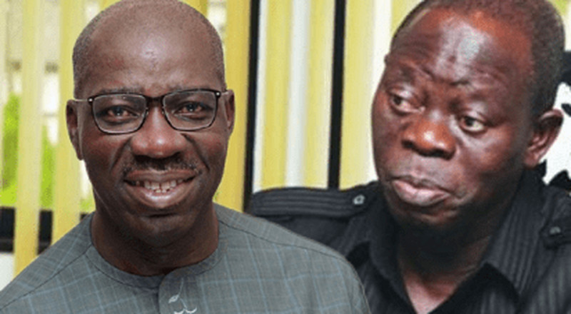 'I will show you I'm the governor', Obaseki threatens to expel Oshiomhole from Edo APC