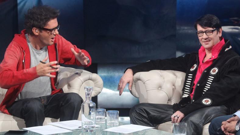 Maciej Maleńczuk w programie Kuby Wojewódzkiego