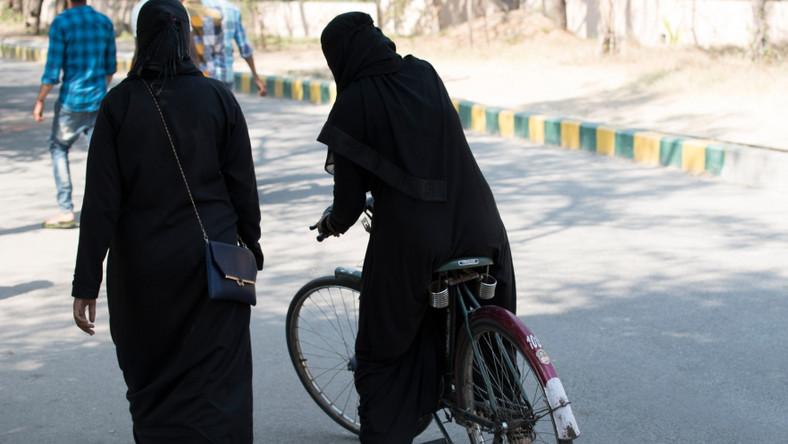 Muzułmanki na rowerze