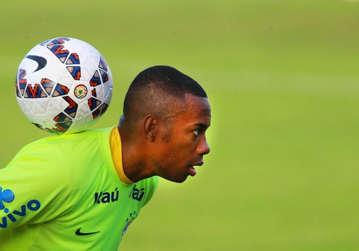 Robinjo u dresu Brazila