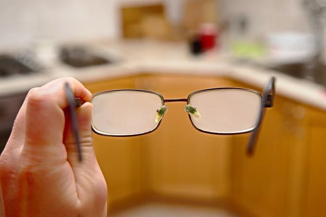 Kako sprečiti maglu na naočarima