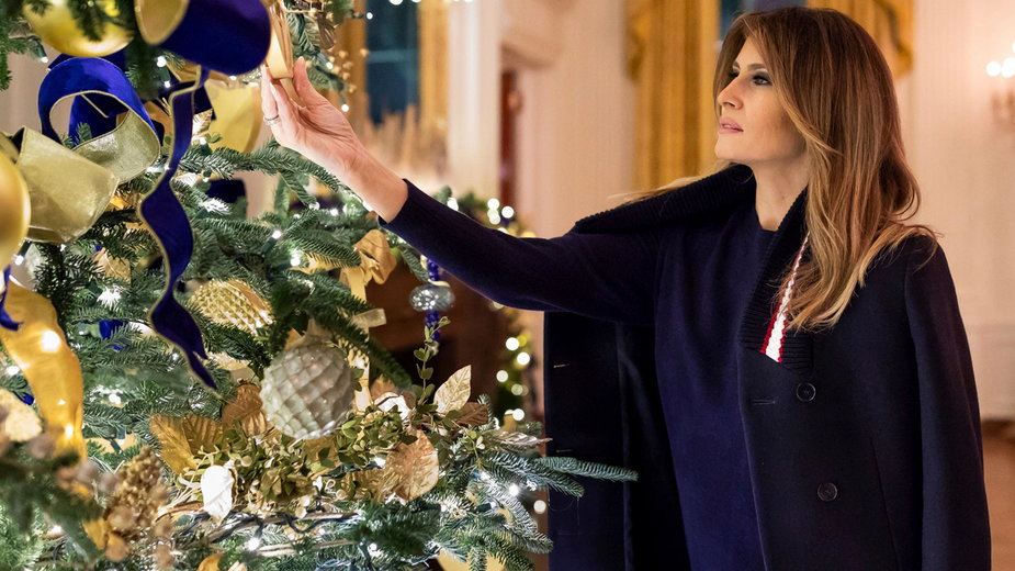Melania Trump w 2018 roku