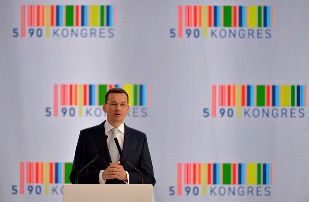 Wicepremier Mateusz Morawiecki w drugim dniu Kongresu 590