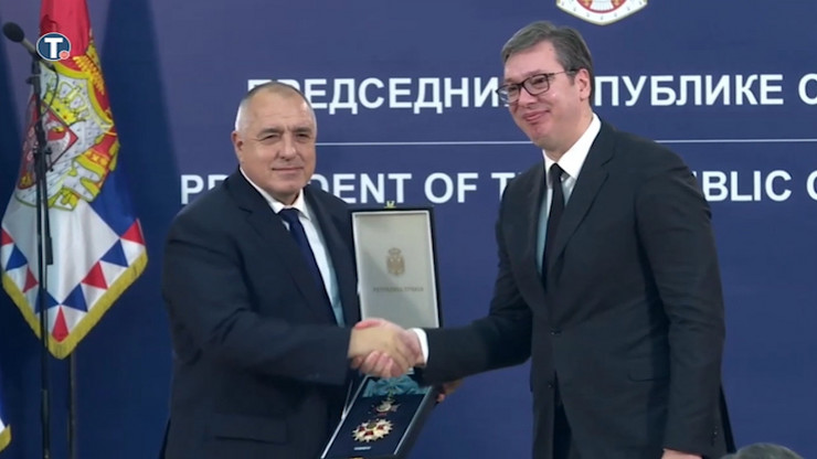 Vucic odlikovao Borisova