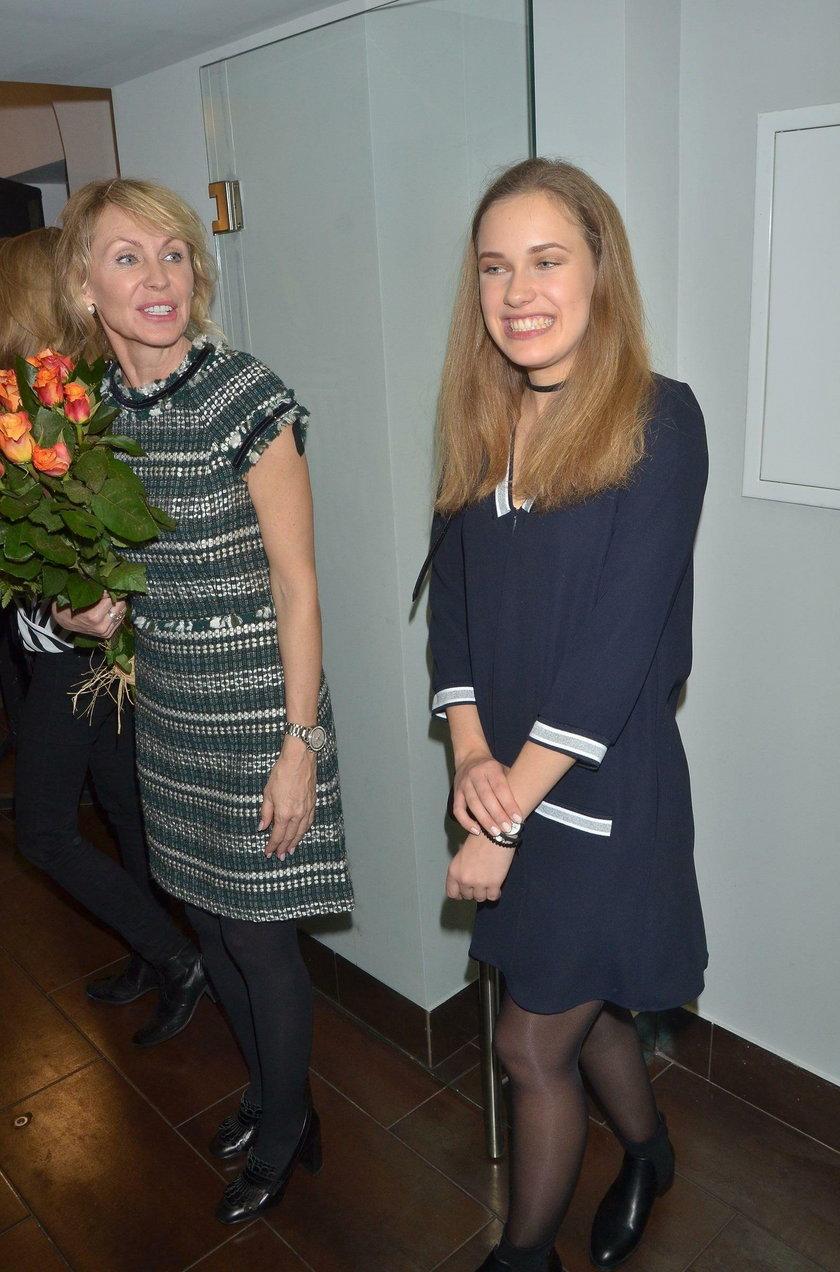 Helena Englert z mamą