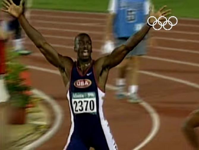 Majkl Džonson na Olimpijskim igrama u Atlanti 1996. godine