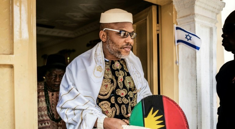 Uncertainty trails Nnamdi Kanu's attendance of father's burial