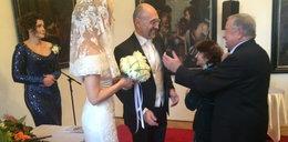 Mlynkova wyglądała na swoim ślubie jak księżniczka!