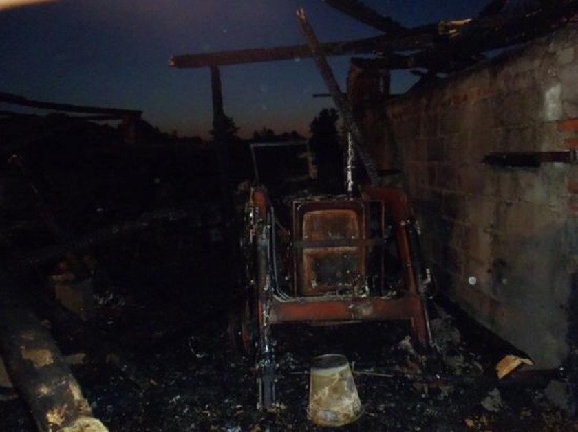Pożar w Ruszkowie Pierwszym