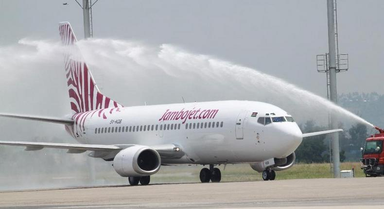 Jambojet bags top international Award for being on time