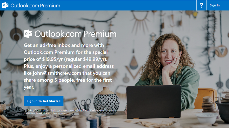 Outlook.com Premium - nowa usługa Microsoftu