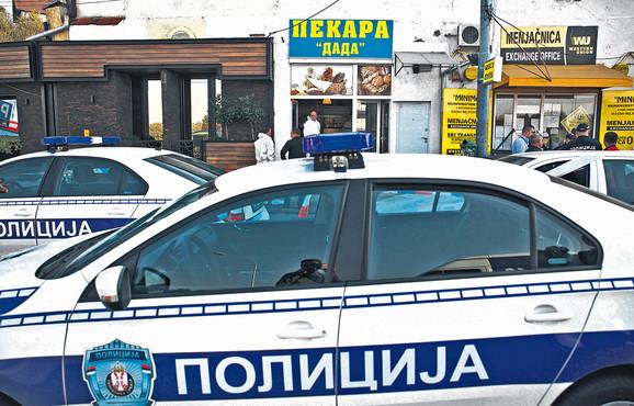 Policija na mestu zločina