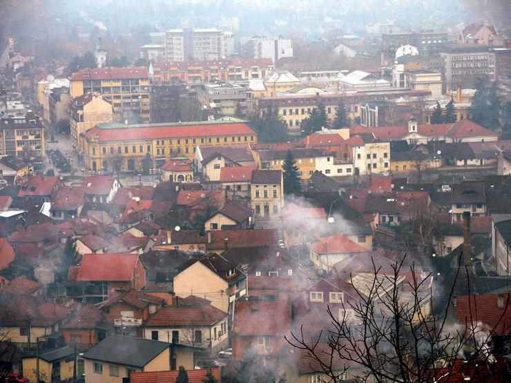 Valjevo slovi za jedan od najzagađenijih gradova u Srbiji