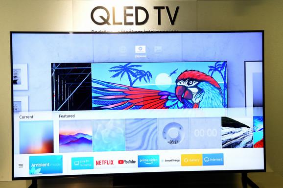 Televizor radi na tehnologiji zasnovanoj na veštačkoj inteligenciji