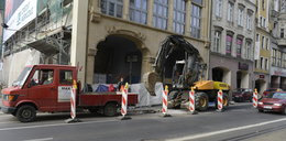 Robotnicy zablokowali Ruską i Legnicką