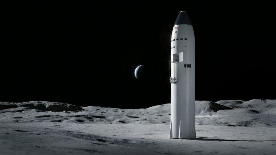 Pierwszy komercyjnylądownik księżycowy NASA.Zaprojektuje go Elon Musk!