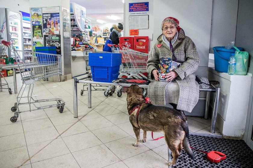 Najstarsza wolontariusza WOŚP w Krakowie