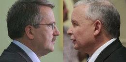Kaczyński i Komorowski stanęli twarzą w twarz