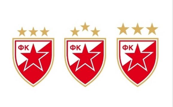 Tri predloga za novi grb FK Crvena zvezda