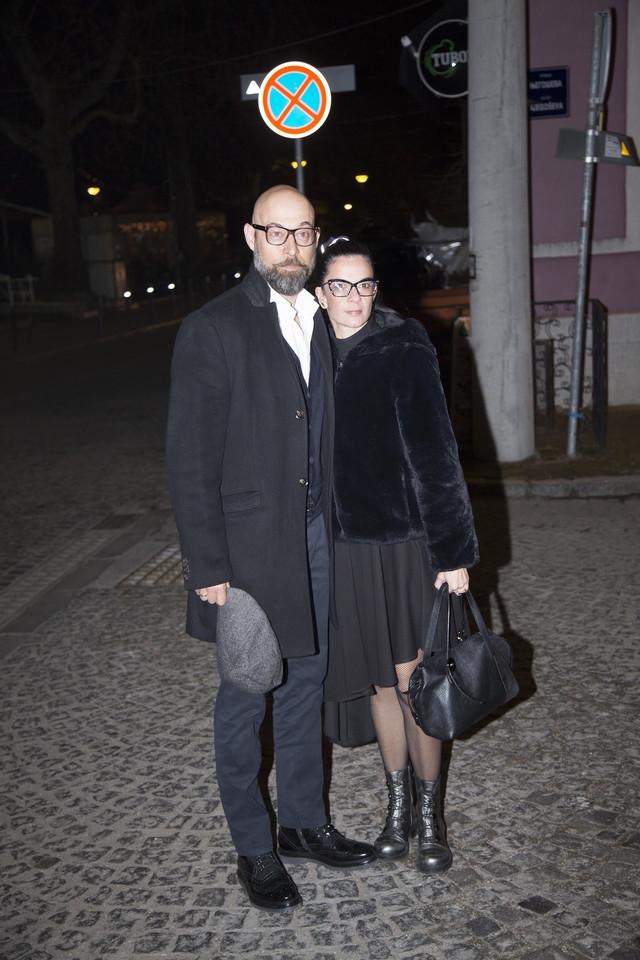 Dejan Lutkić sa suprugom Ljubinkom