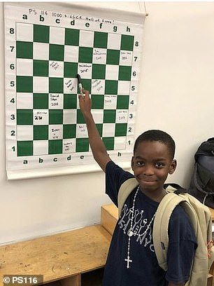 8-year-old Nigerian Adewumi wants to be the world's youngest chess champion (dailymail)