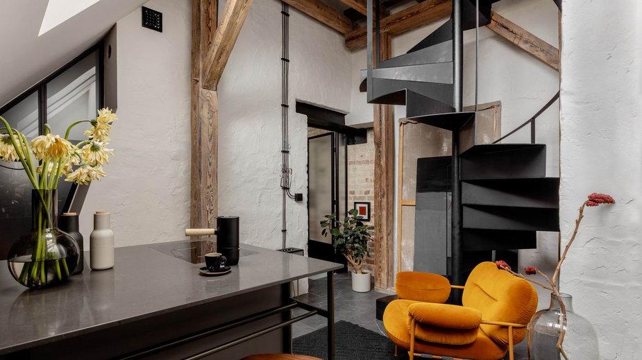 Mieszkanie na poddaszu w Warszawie