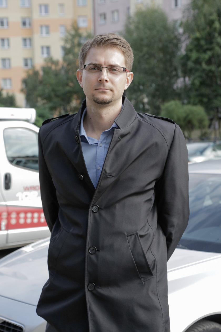 Arkadiusz Filipowski (29 l.), rzecznik magistratu