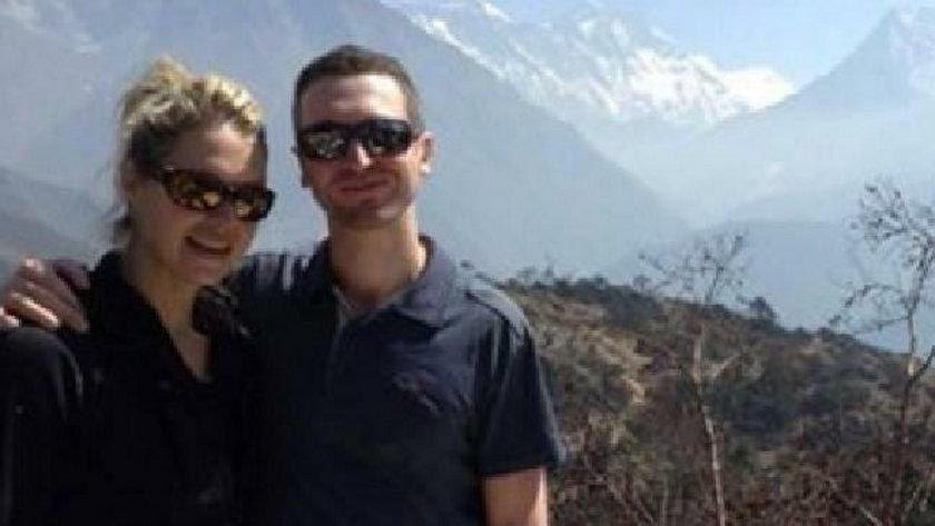 Maria Strydom i jej mąż Robert Gropel