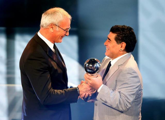 Klaudio Ranijeri i Dijego Maradona