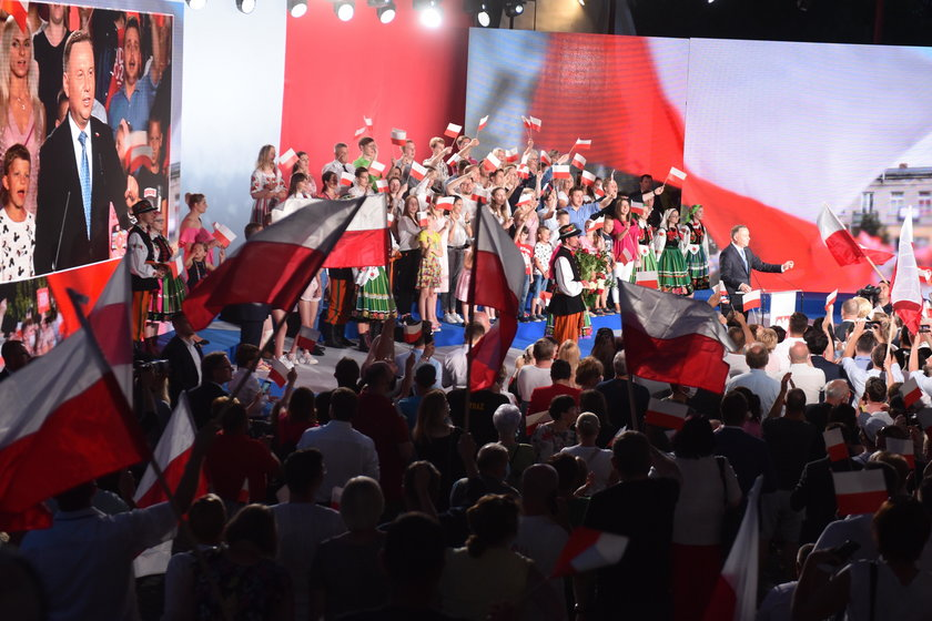 Wybory prezydenckie 2020: Kingi Dudy zabrakło na wicu Andrzeja Dudy