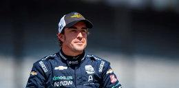 Fernando Alonso po operacji. Ma złamaną szczękę