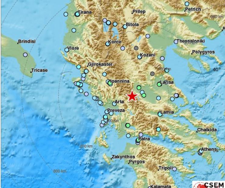 grčka zemljotres
