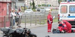 Tragiczny wypadek przed Galerią Mokotów. Drastyczne ZDJĘCIA