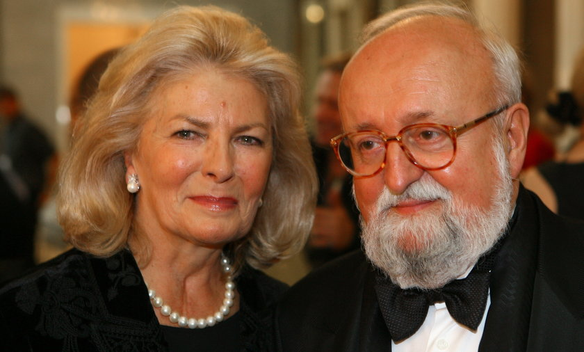 Krzysztof Penderecki, żona, Elżbieta