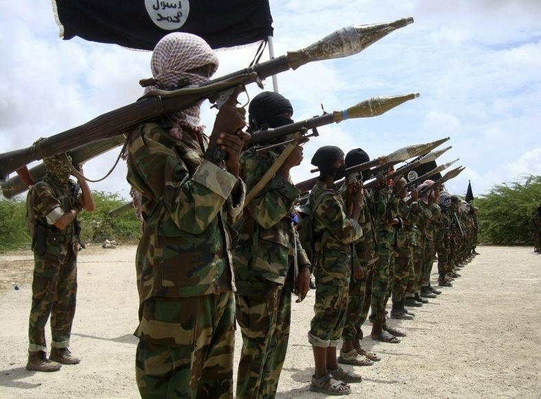 Somalia-based Al Shabaab terrorists.