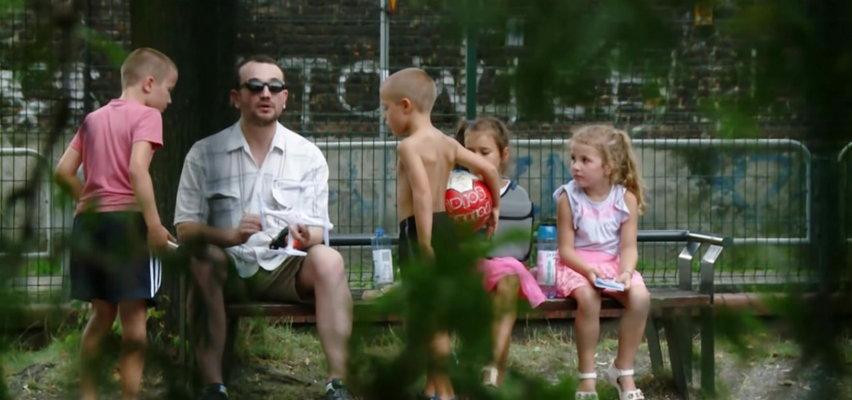 Czy twoje dziecko poszłoby na spacer z nieznajomym mężczyzną?! Szokujące nagranie śląskiej policji