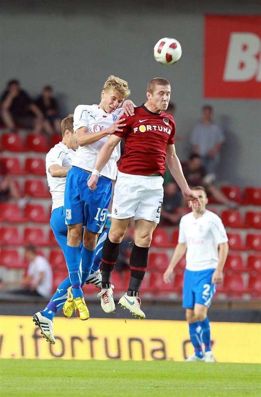 Sparta Praga - Lech Poznań 1:0 w pierwszym meczu III rundy eliminacji Ligi Mistrzów