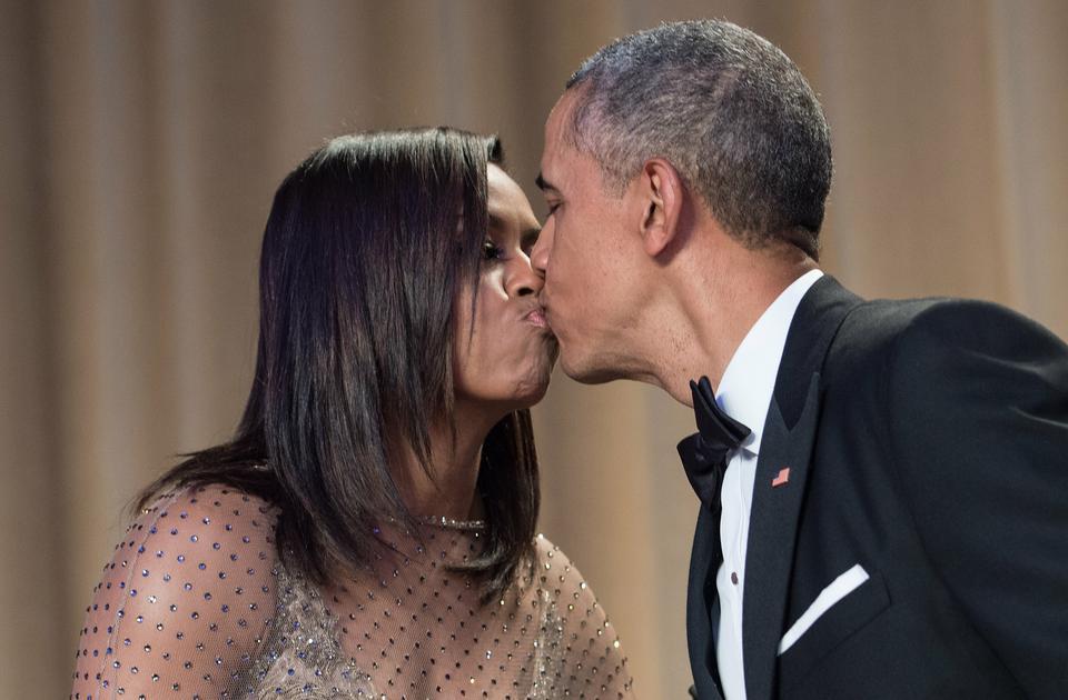 Michelle i Barack Obama już 25 lat po ślubie!