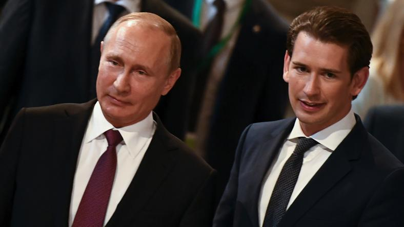 Władimir Putin i Sebastian Kurz