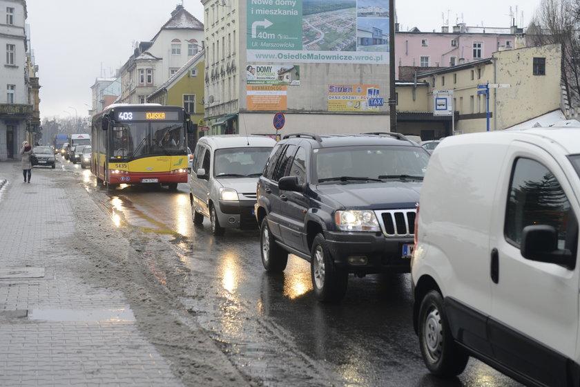 Autobus we Wrocławiu