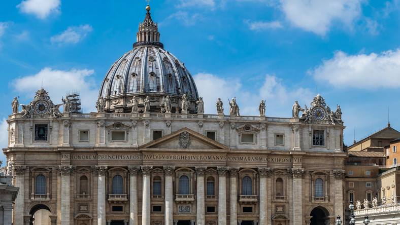 Bazylika św Piotra Watykan