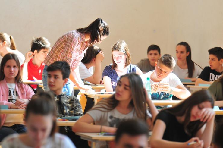 novi sad 2484 probni kombinovani test srpski jezik mala matura proba osnovna skola djordje natosevic foto Robert Getel