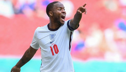 England forward Raheem Sterling Creator: Laurence Griffiths