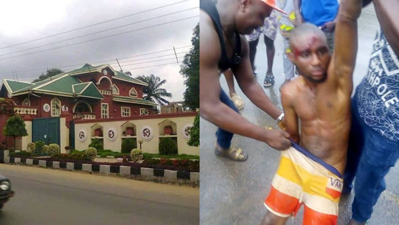 Robber breaks into pastor's luxurious home but ends up falling asleep (photos)