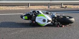 16-letni motocyklista zabił pieszego. Szukają świadków