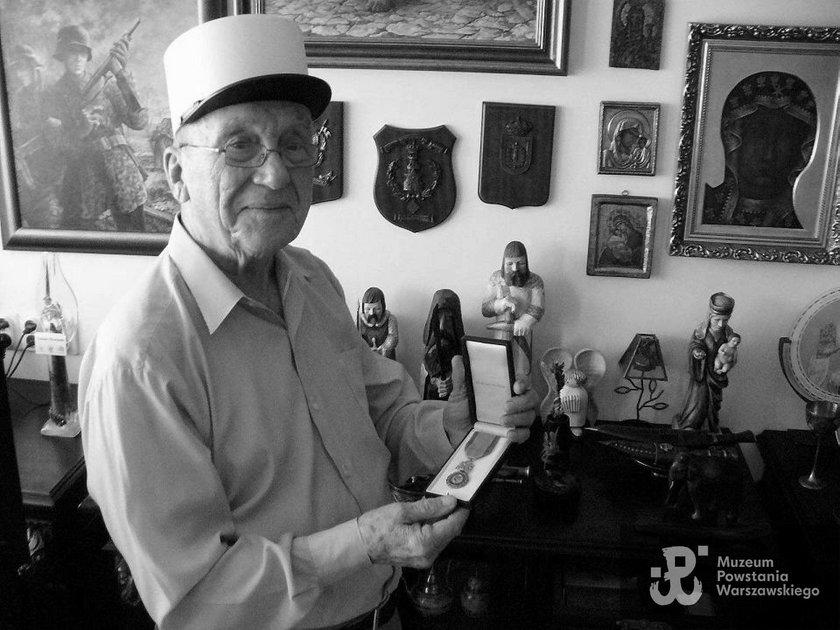 Nie żyje Zygmunt Jatczak. Miał 97 lat. To były uczestnik Powstania Warszawskiego