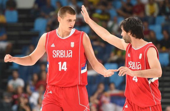Miloš Teodosić i Nikola Jokić