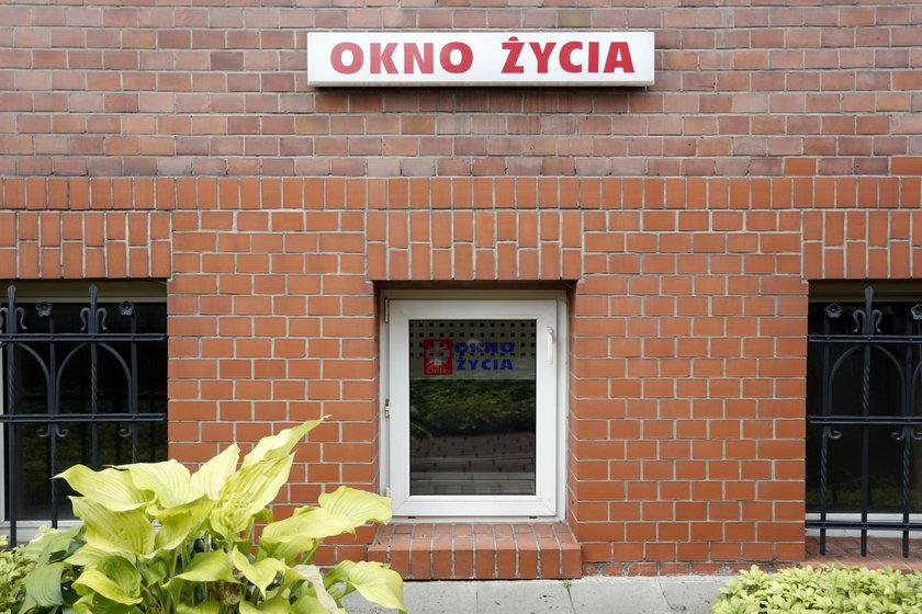 Chłopczyk z Okna Życia w Katowicach